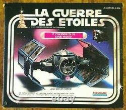 Meccano STAR WARS 1978 GUERRE DES ETOILES Darth Vader TIE FIGHTER France VINTAGE
