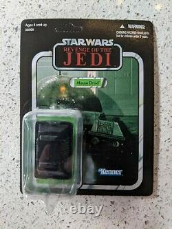 Mouse Droid Star Wars Vintage Collection Vc67 2011 Sdcc Death Star Unpunched