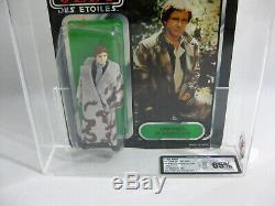 NEW 1983 Vintage Star Wars Han Solo Trench TRI-LOGO 79 BK UKG 70/65/80 AFA