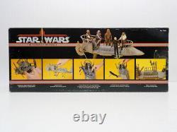 Nm Potf Tattooine Skiff Vehicle Misb Sealed Vintage Kenner Star Wars 1977 1985
