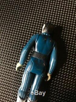 Original Vintage Star Wars Blue Snaggletooth withTOE DENT (kenner 1978)