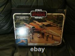 Poe Dameron's X-Wing Fighter Star Wars The Rise of Skywalker Vintage Colle