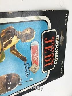 R2D2 Kenner Star Wars Return Of The Jedi SEALED Vintage 1983 ARTOO-DETOO