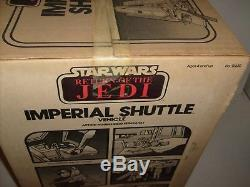 RARE Vintage Star Wars Kenner Imperial Shuttle Factory Sealed Figure Vehicle NEW