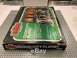 RRARE VINTAGE 1980'S KENNER STAR WARS SEARS EXCLUSIVE CLOUD CITY PLAYSET With BOX