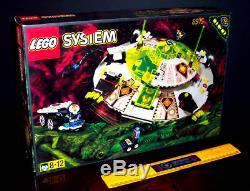 Rare Vintage Lego 6975 Alien Avenger Big Ufo Space System Glows Black Light New
