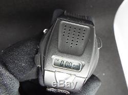 Rare Vintage Seiko Digital Watch A860-4000 BLACK VADER DARTH STAR WARS TALKING