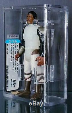 Rare Vintage Star Wars Pre-production Lando Skiff First Shot Torso Pull Afa Q85