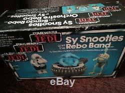 Rare vintage star wars Sy Snootles and the Rebo Band