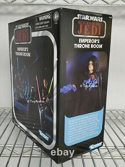 SDCC 2021 Star Wars Vintage Collection 3.75 Emperor's Throne Room In Stock USA