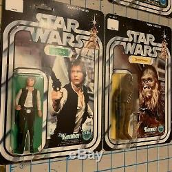 STAR WARS 1977 FIRST 12 ULTIMATE FIGURE BUNDLE All 12 Vintage Figures MOC