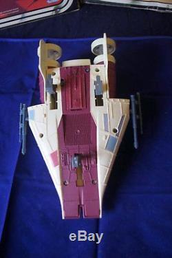 STAR WARS A-Wing Vintage 1984 vollständig mit Pilot