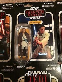 STAR WARS Vintage Collection 10 Figure Lot Luke Vader Malgus Ackbar Maul Obi Wan