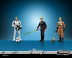 Sdcc 2019 Hasbro Exclusive Star Wars Vintage Luke Skywalker Jedi Destiny Figures