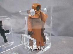 Star Wars 1977 VINYL CAPE JAWA AFA 75 Loose Grading with COA Vintage A New Hope