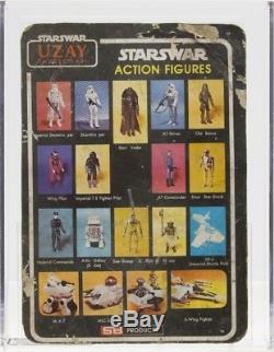 Star Wars 1988 Vintage Uzay Darth Vader MOC AFA NG