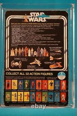 Star Wars Afa 75 Luke Skywalker 12 Back C With 32 Back Stic Vintage Moc Carded
