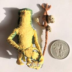 Star Wars Amanaman with Staff and Coin 1985 Vintage Last 17