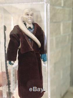 Star Wars Bib Fortuna Lily Ledy Vintage AFA 85 Red Cape