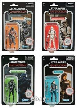 Star Wars Carbonized Mandalorian Vintage Collection Set Of 4