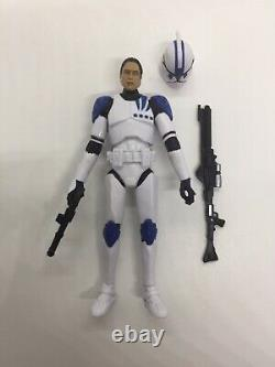 Star Wars Custom The Clone Wars Sergeant Kano Figure Vintage 501st Legion