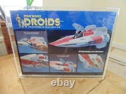Star Wars Droids Kenner A-Wing Fighter Vintage Factory Sealed Boxed Cased
