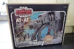 Star Wars ESB ATAT Boxed Instructions Line Drawn Vintage