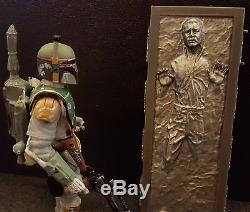 Star Wars ESB Black Series 3.75 Han Solo Carbonite VC09 Boba Fett TVC figures