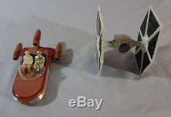 Star Wars ESB Vintage Kenner Die Cast Complete Set of 11 Vehicles TIE BOMBER