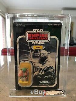 Star Wars Empire Strikes Back Kenner Vintage 1980 Yoda AFA 85 Graded Figure