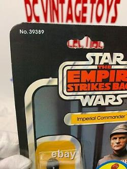 Star Wars Esb Imperial Commander 48 Back B Vintage Moc Carded