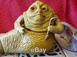 Star Wars Jabba The Hutt Playset Boba Fett Bib Fortuna Max Rebo Band vintage lot