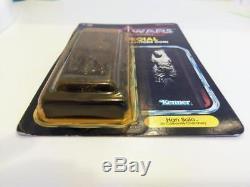 Star Wars Kenner Vintage Han Solo In Carbonite Unpunched POTF 1985 LAST 17 MOMC