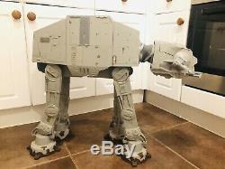 Star Wars Legacy Vintage Collection AT AT Walker Endor Ver HASBRO 2010 & Speeder