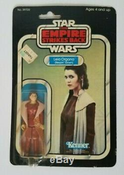 Star Wars Leia Organa Bespin Gown 31 Back Vintage Moc Carded