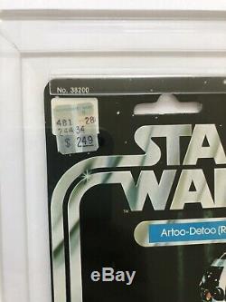 Star Wars R2-D2 12 Back-C Vtg Kenner MOC CAS 85 85/85 AFA Archival Just Graded