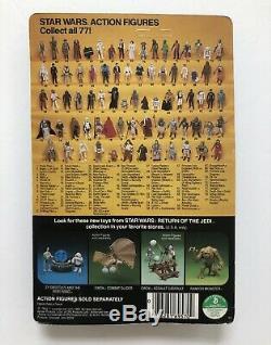 Star Wars ROTJ 1983 Boba Fett 77 Back Vtg Kenner Unpunched MOC