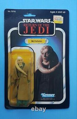 Star Wars ROTJ Kenner Bib Fortuna & Nikto MOC carded Vintage