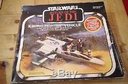 Star Wars ROTJ Trilogo Battle Damaged X-Wing Fighter Meccano Boxed Vintage