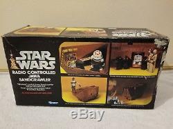 Star Wars Radio Controlled JAWA SANDCRAWLER UNBROKEN Original 1979 Vintage
