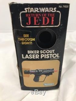 Star Wars Rotj Vintage 1983 Biker Scout Laser Pistol Original Kenner