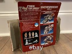 Star Wars Snowspeeder Micro Complete W Org Receipt Mib Vintage Kenner 1982 Luke