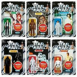 Star Wars The Retro Vintage Collection Action Figure Full Set Brand New