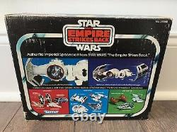 Star Wars Tie Bomber Diecast W Bubble Box Only Esb Kenner Vintage 1980 Rare Htf
