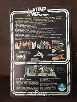 Star Wars Vintage 1977-luke Skywalker 12 Back B Farmboy Beautiful Afa It