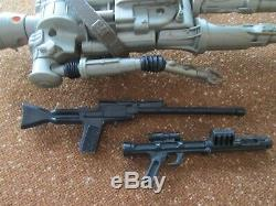 Star Wars Vintage 1980 12-Inch 15 IG-88 Figure Original Two Weapons