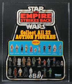 Star Wars Vintage 1980 ESB Bell Display Collect All 32 AFA 75