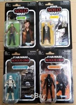 Star Wars Vintage 3.75 Han Solo Enfys Nest Death Trooper Imperial Tank Driver