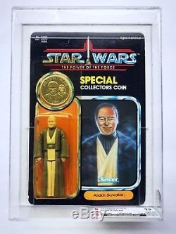 Star Wars Vintage ANAKIN SKYWALKER POTF Power of the Force MOC CAS 75 AFA