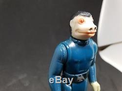 Star Wars Vintage Blue Snaggletooth 1978 loose not graded with original weapon